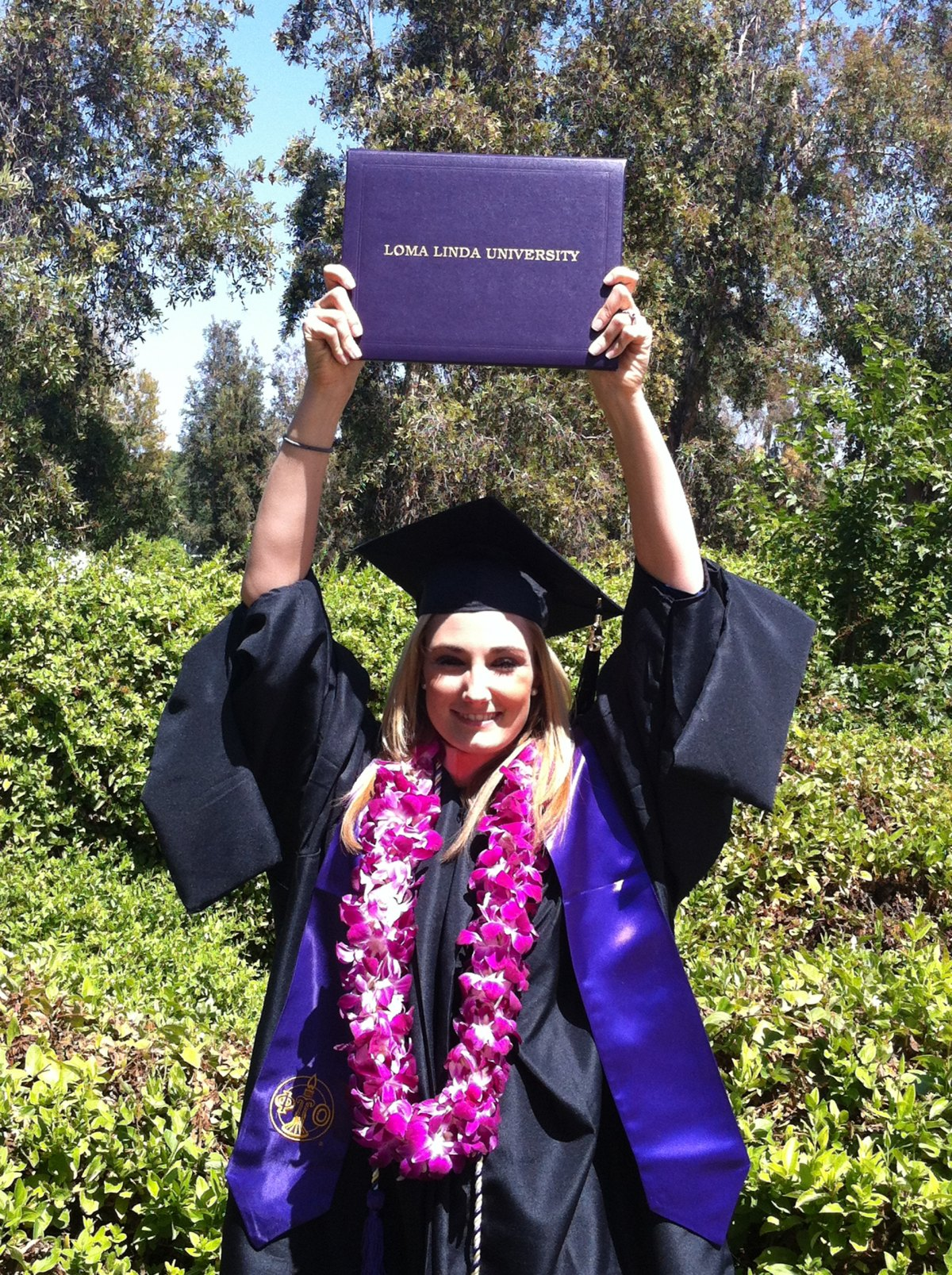 Kelli graduation