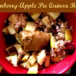 Apple Pie Quinoa Bowl