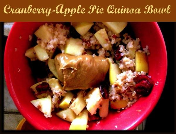 Apple Pie Quinoa Bowl
