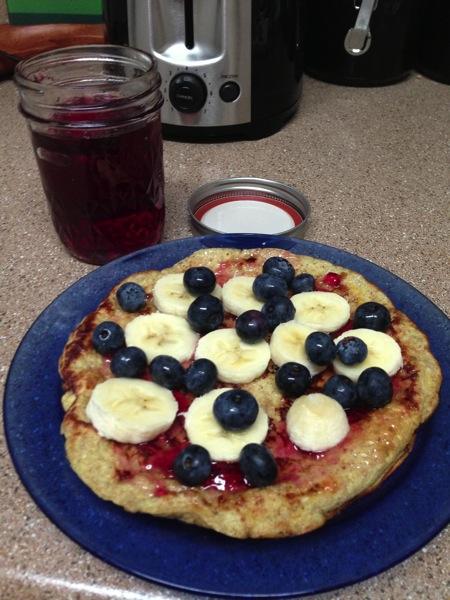 flourless pancake
