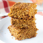 Pumpkin Apple Quinoa Breakfast Bars
