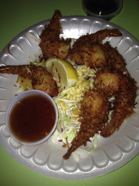 Coconut SHrimp Savage Shrimp