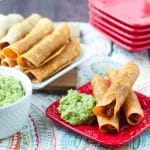 Oven Fried Chicken Taquitos (with VIDEO)
