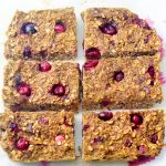 Cranberry Date Quinoa Breakfast Bars