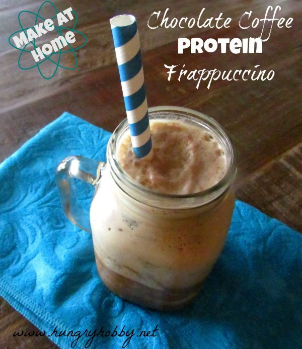 how to make a vanilla frappuccino at home