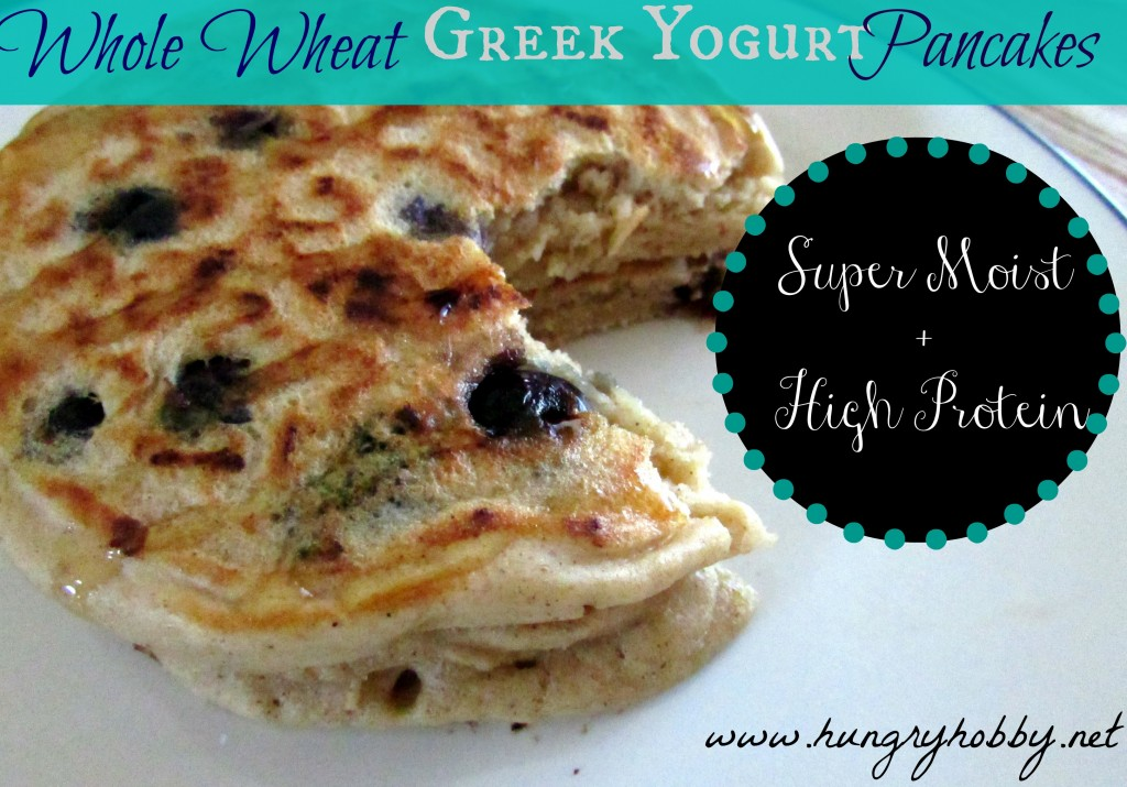 Whole Wheat Greek Yogurt Pancakes- Super Moist & High Protein.jpg