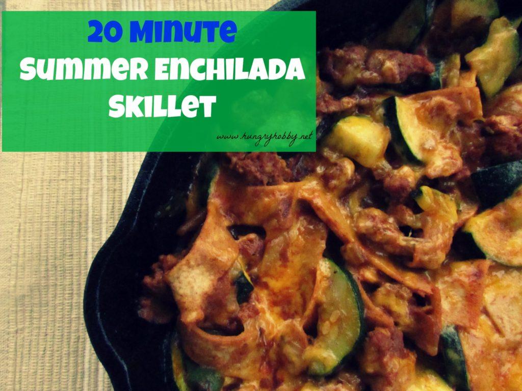 20 Min Summer Enchilada Skillet - www.hungryhobby.net.jpg