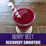 Berry Beet Recovery Smoothie + Formulx Protein Powder Giveaway
