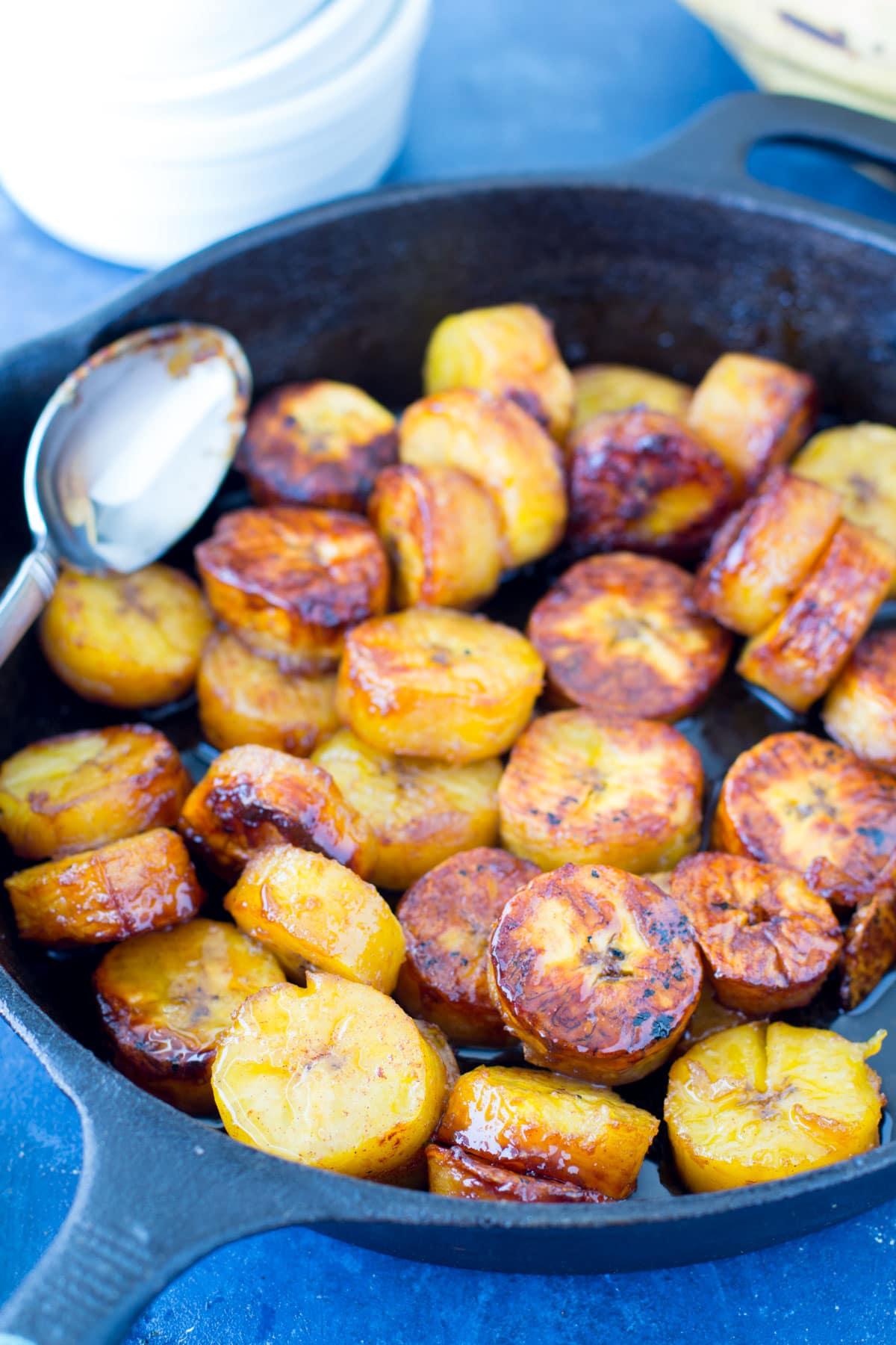bourbon sweet plantains