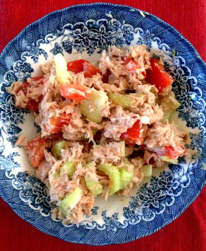 Tuna Salad Lunch Hungry Hobby