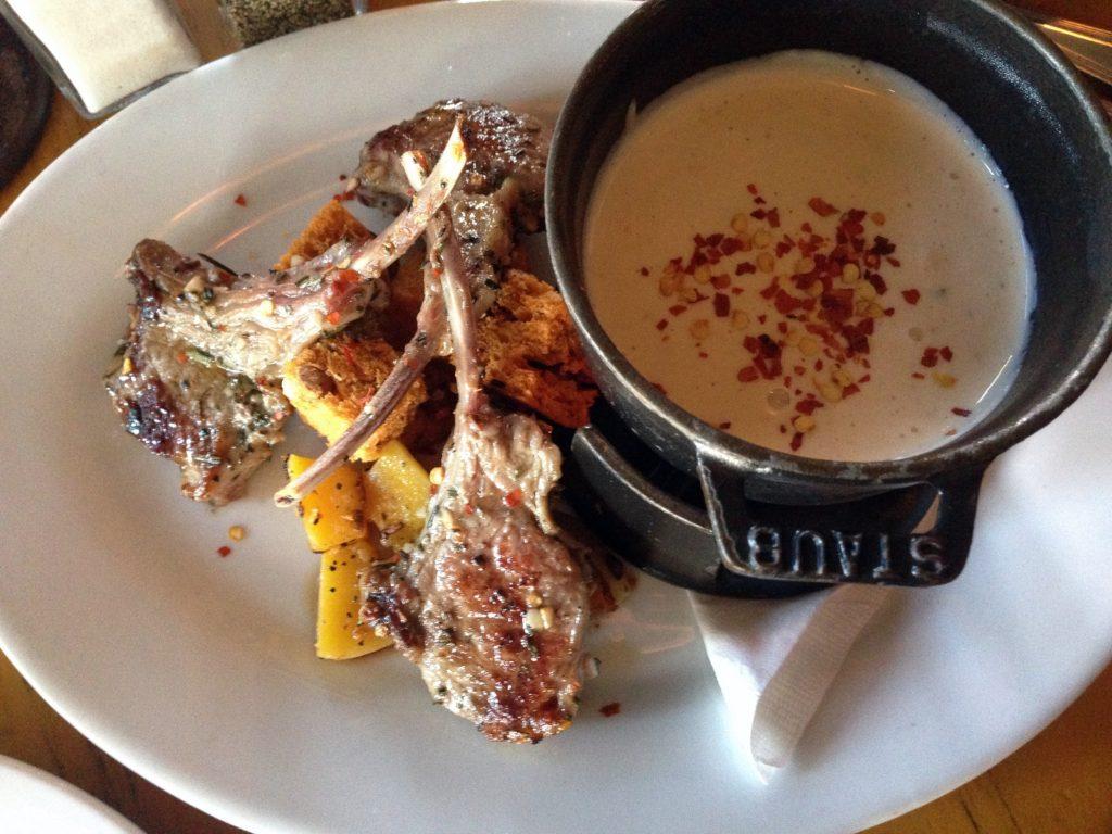 lamb fondue