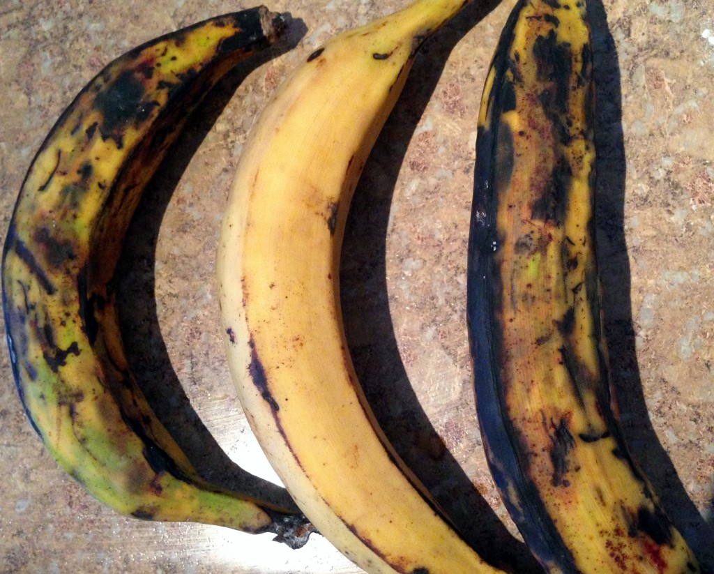 plantains in skins