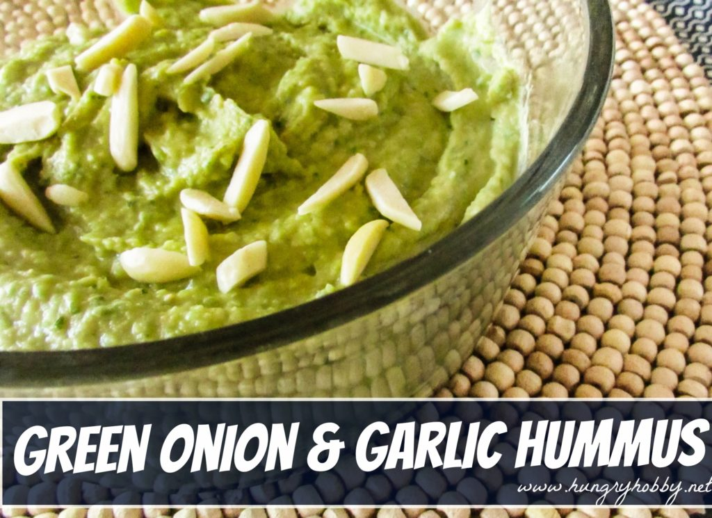 Green Onion and Garlic Hummus