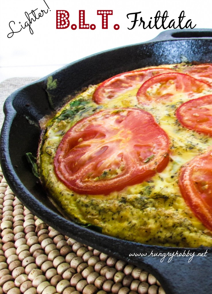 Lighter BLT Frittata