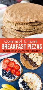 Oatmeal Crust Breakfast Pizza PIN