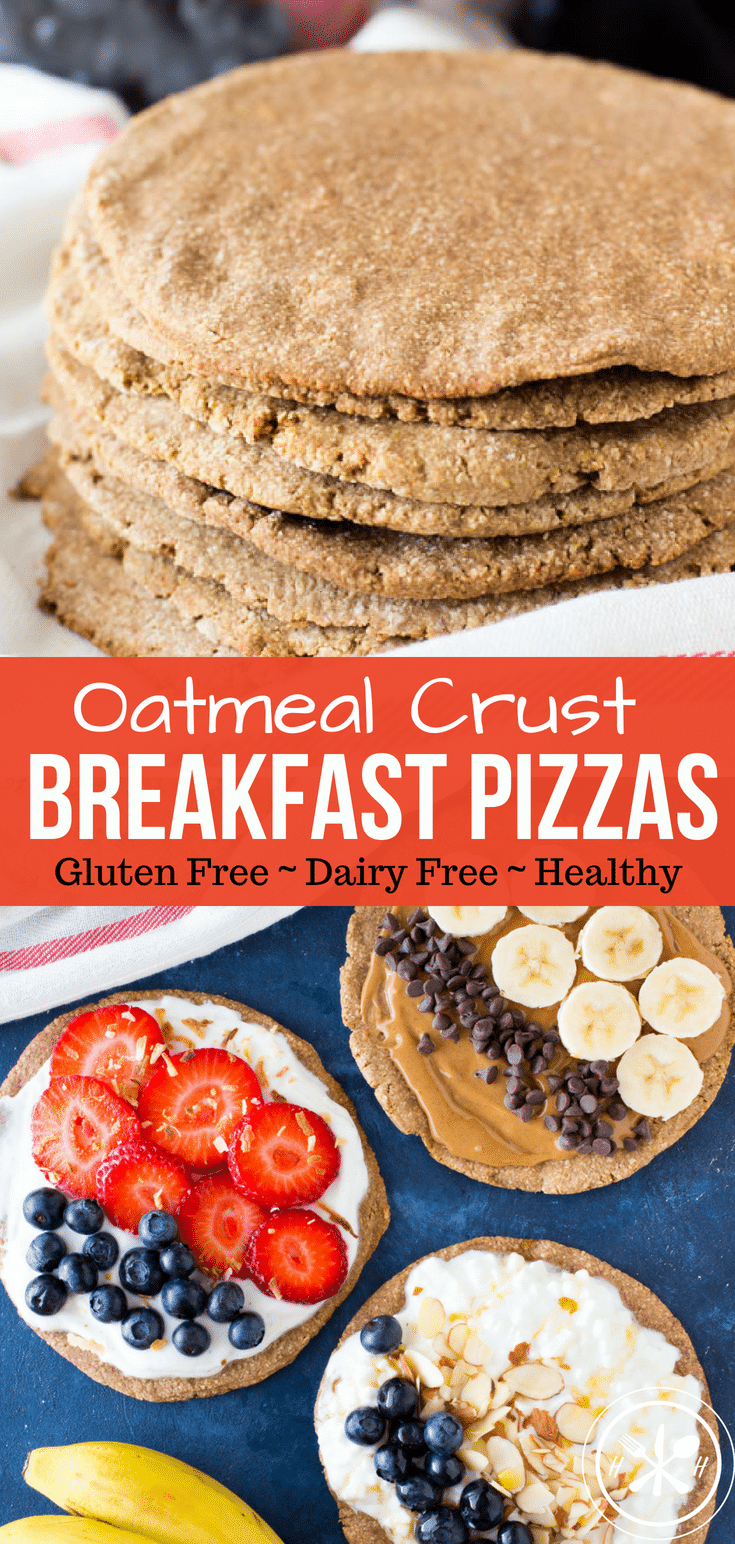 Oatmeal Crust Breakfast Pizza PIN