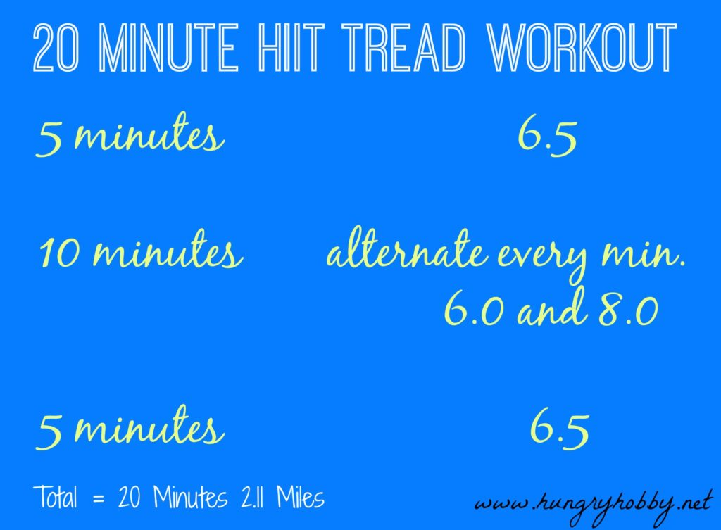 20 Minute HIIT Workout 2.11 Miles