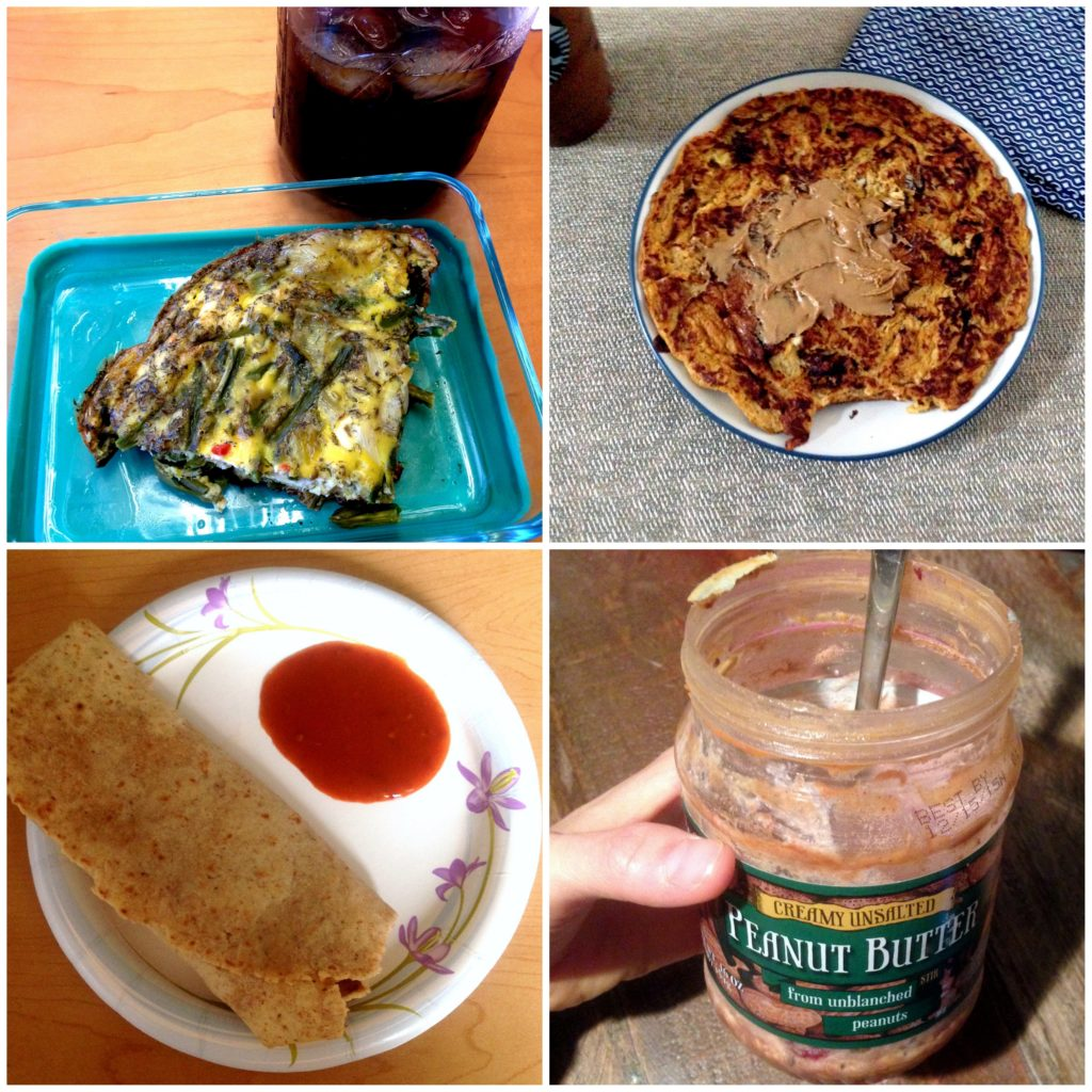 Breakfast-collage-oats-eggs-pancake