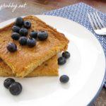 baked-pumpkin-protein-pancakes