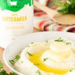 buttermilk cauliflower mash