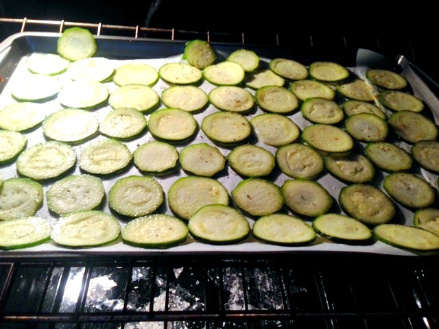 Zucchini Chips in Oven