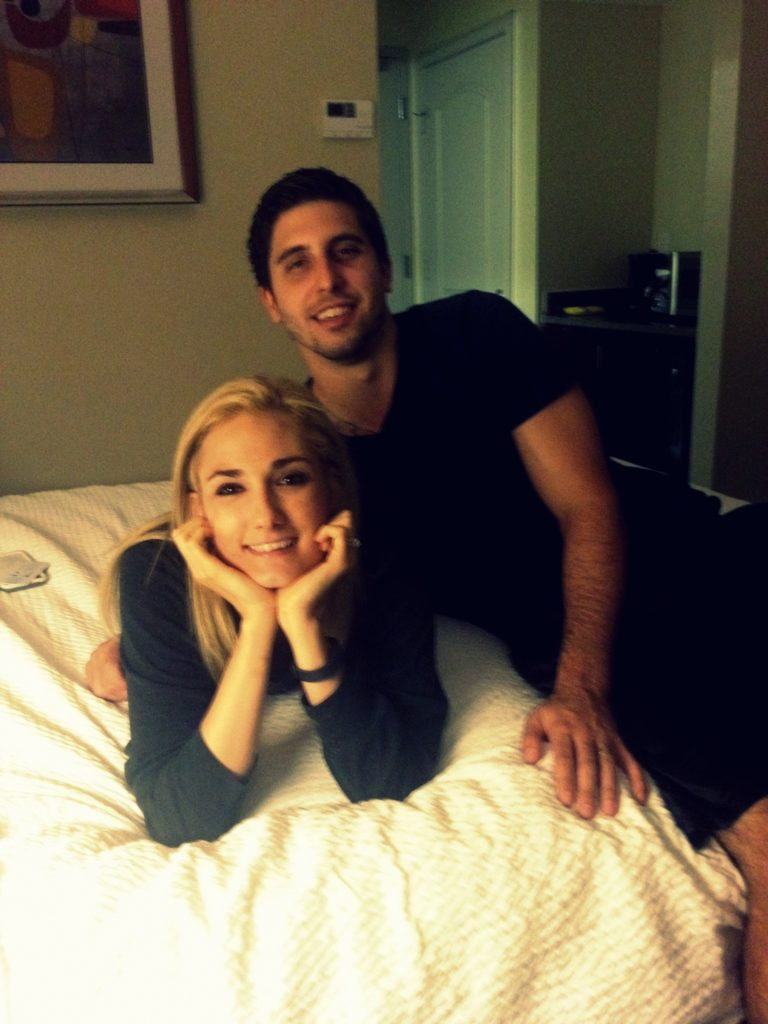 paul & kelli in vivi's room