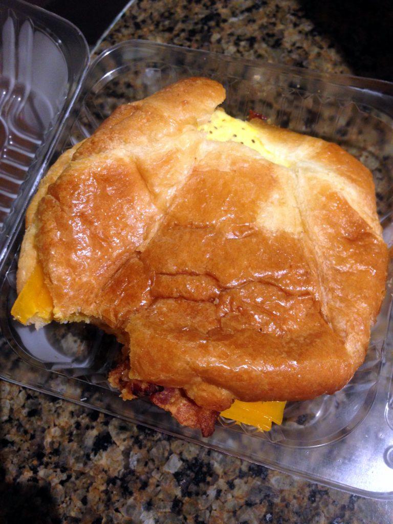 peets egg sandwich