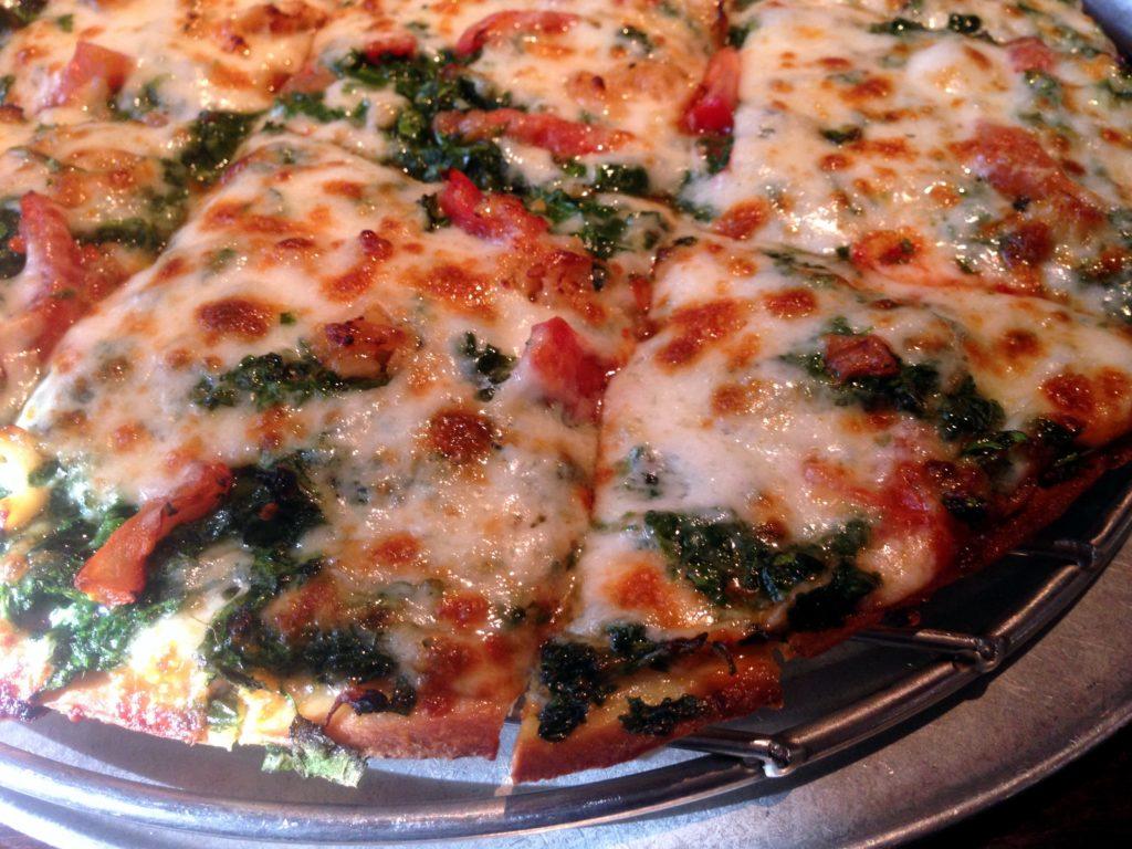 Spinatos- pizza