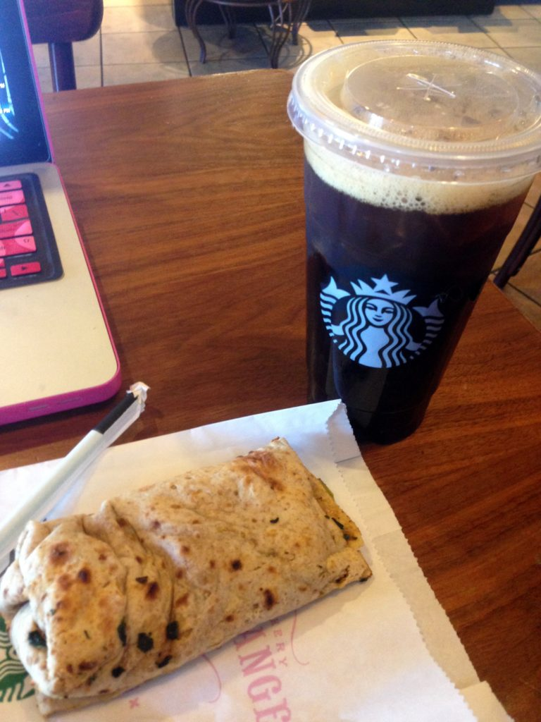 starbucks feat wrap