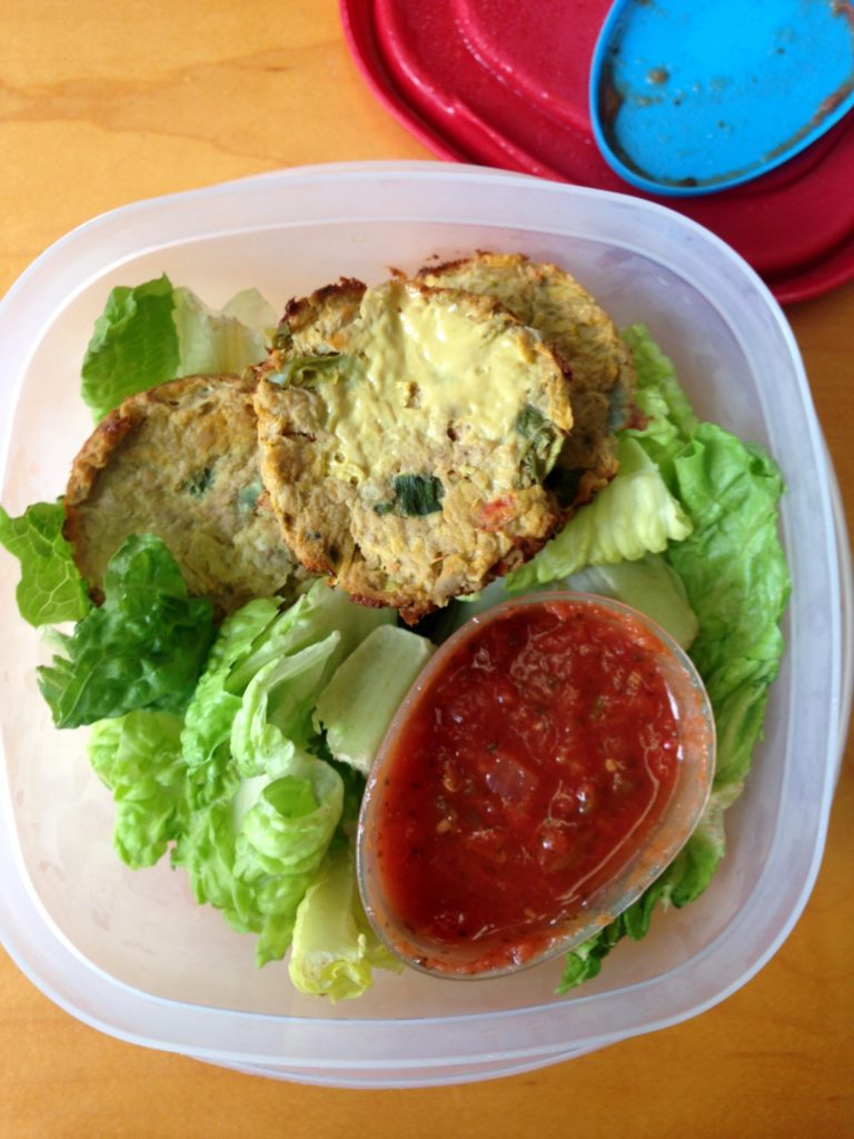 tuna cakes-lunch-sept9