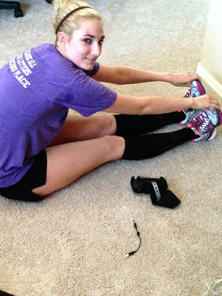 Kelli after run