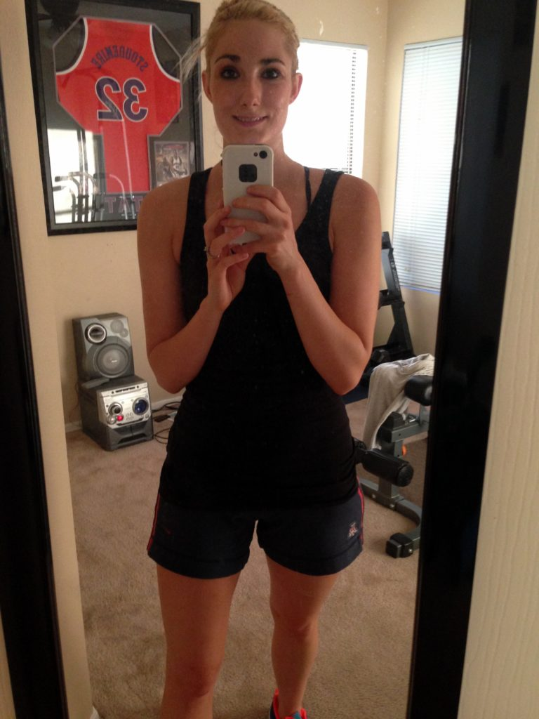 Kelli home gym