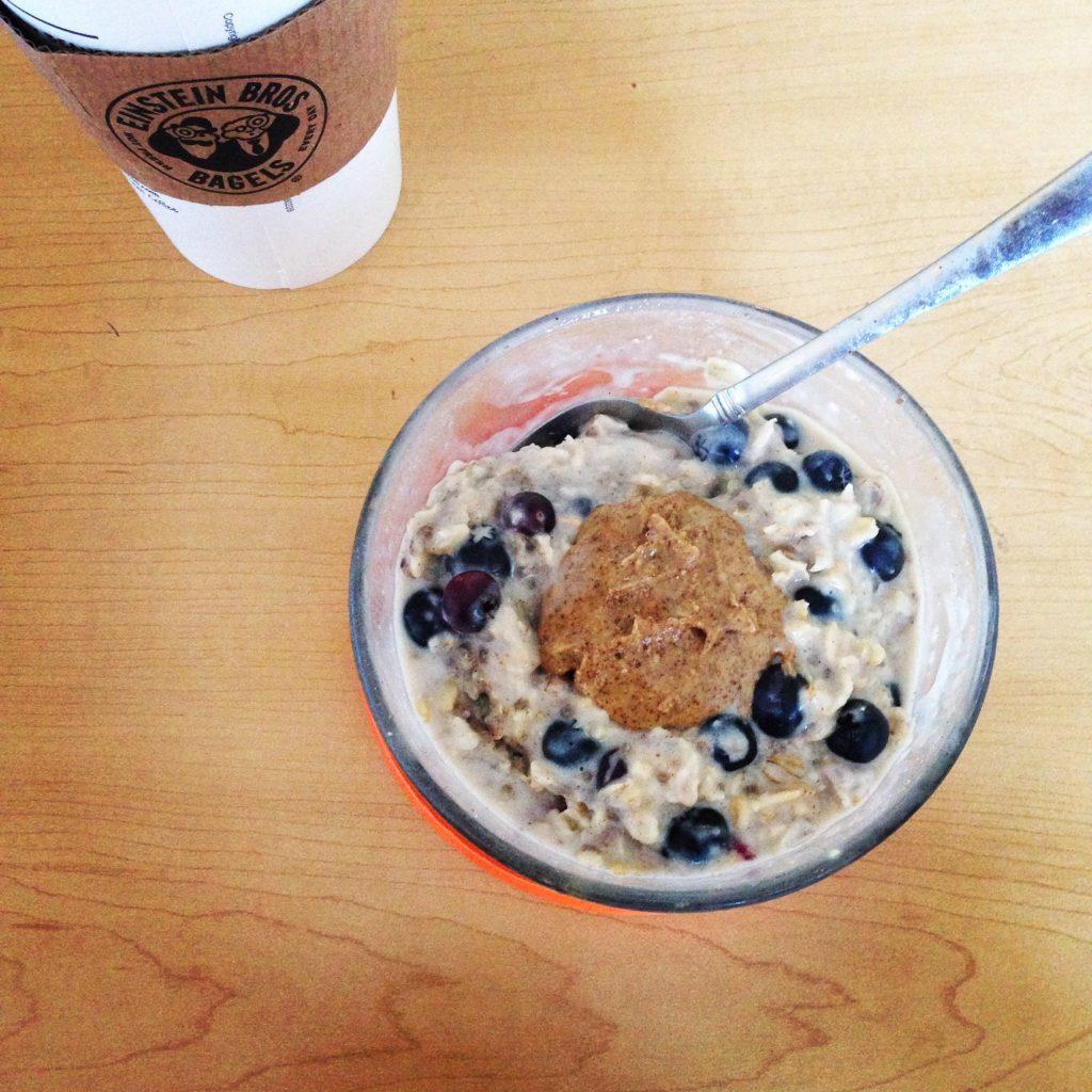 Thurs Overnight oats