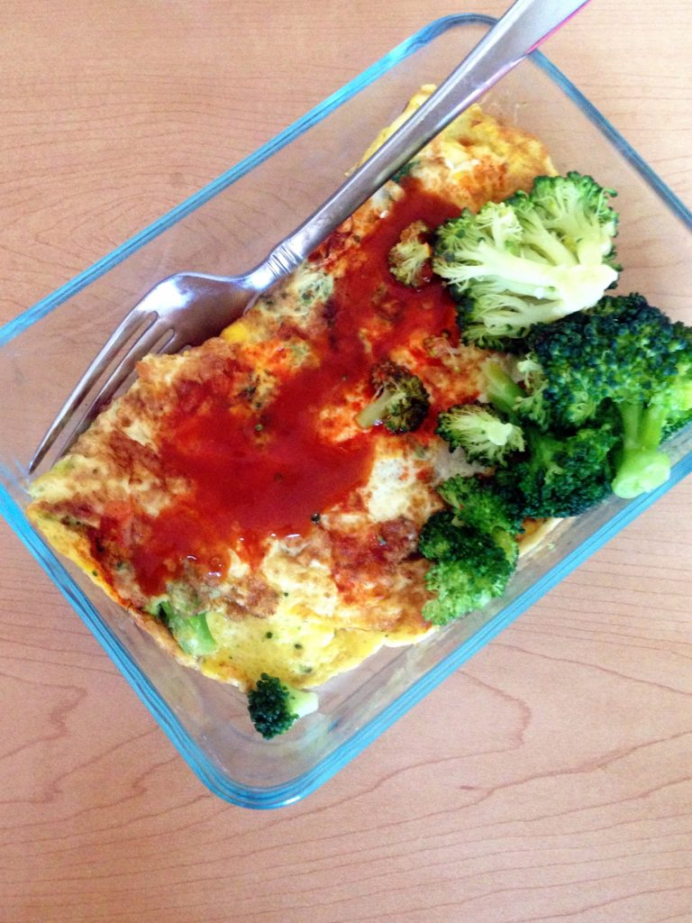 Thurs lunch omelet