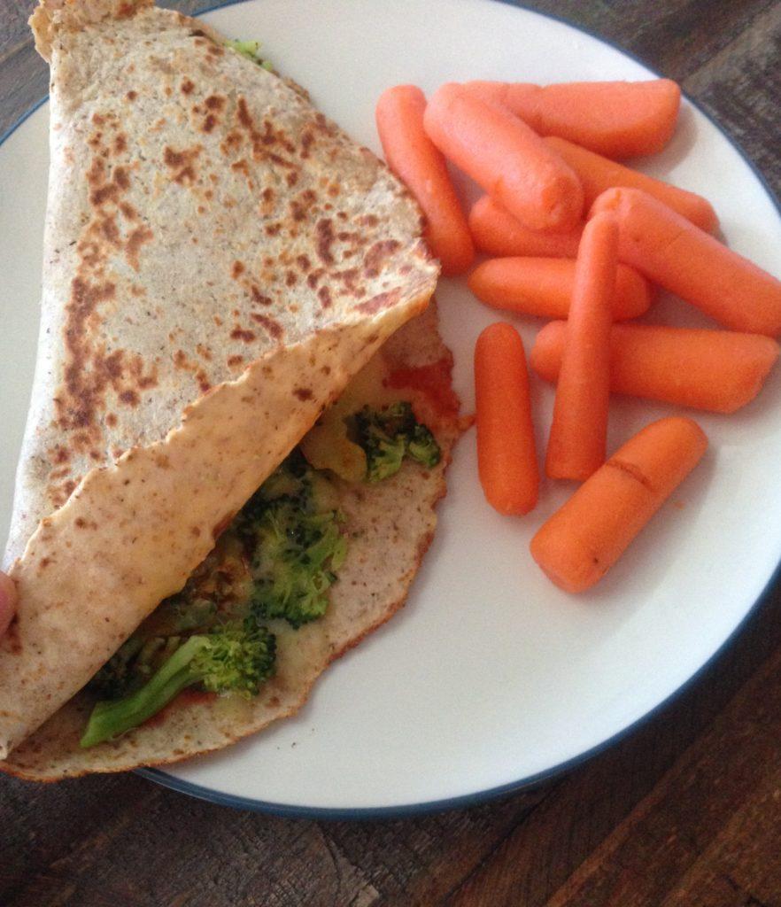 broccoli-quesadilla