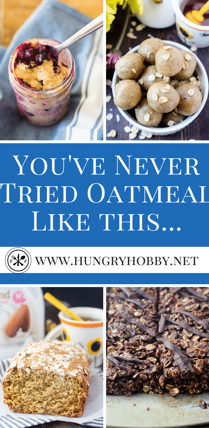 You've never tried oats like this before!  It's no secret oats are heart healthy, this roundup is the most brilliant collection of ways to eat oats you've ever seen!  #glutenfree #oatmeal #hearthealthy #oats #oatmealbowl #healthyrecipe