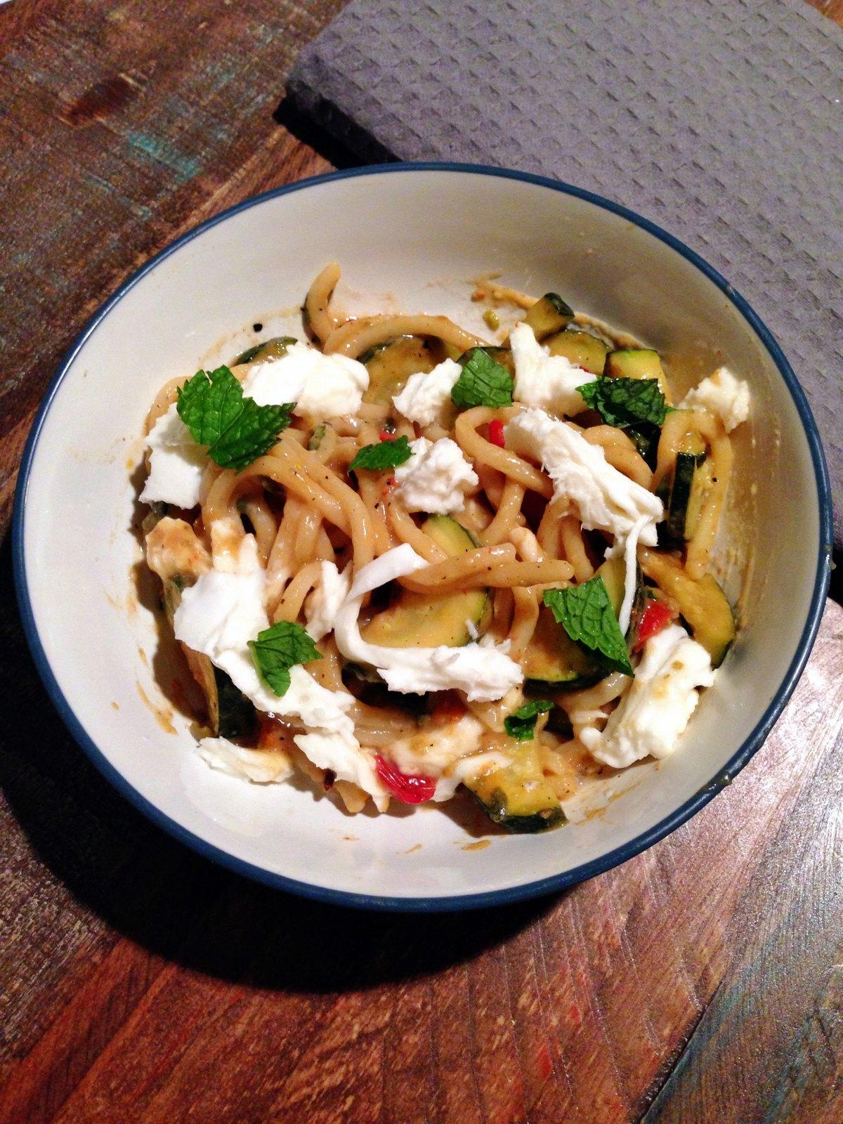 Blue apron zucchini pasta - Tonnarelli Blue Apron