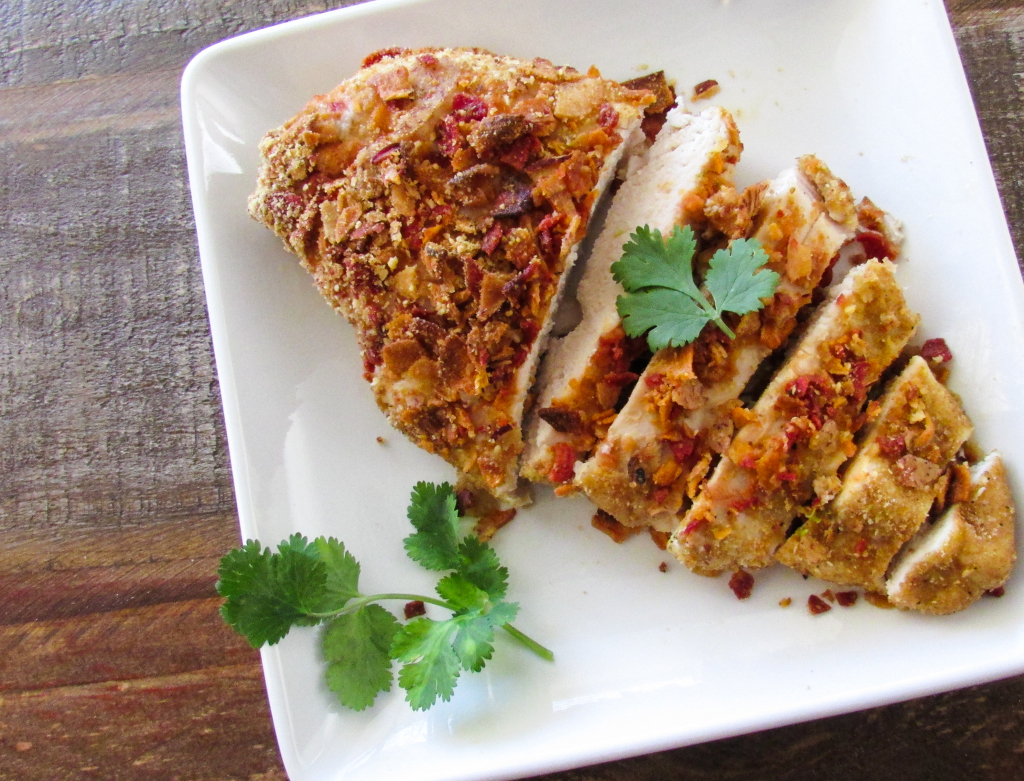 vegetable-chip-flax-baked-chicken