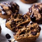 One Bowl Chocolate Chip Banana Oat Muffins
