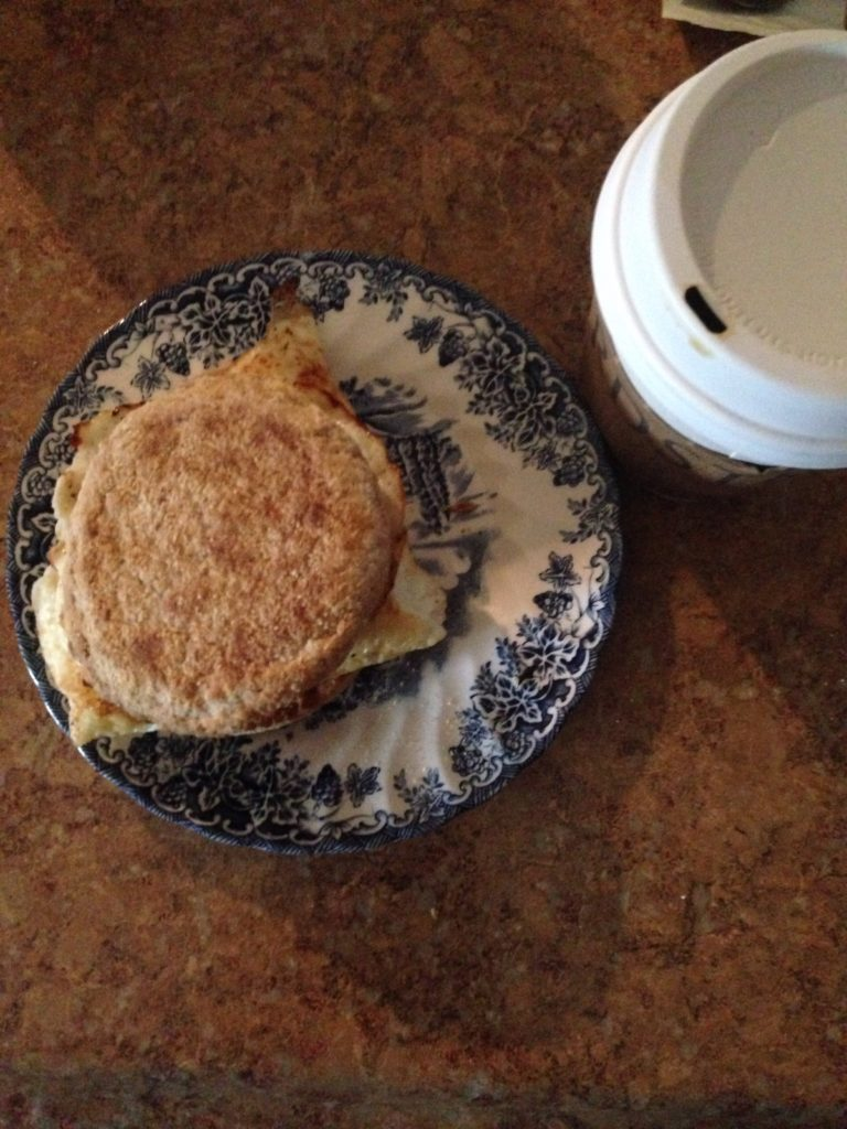 egg muffins sandwich and coffee 2448x3264