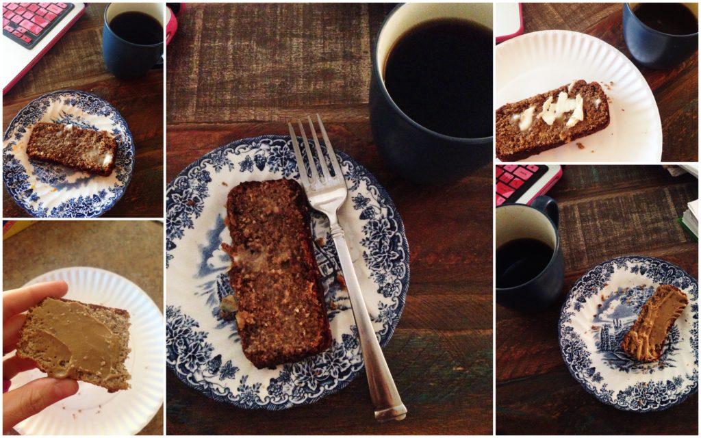 paleo bread collage