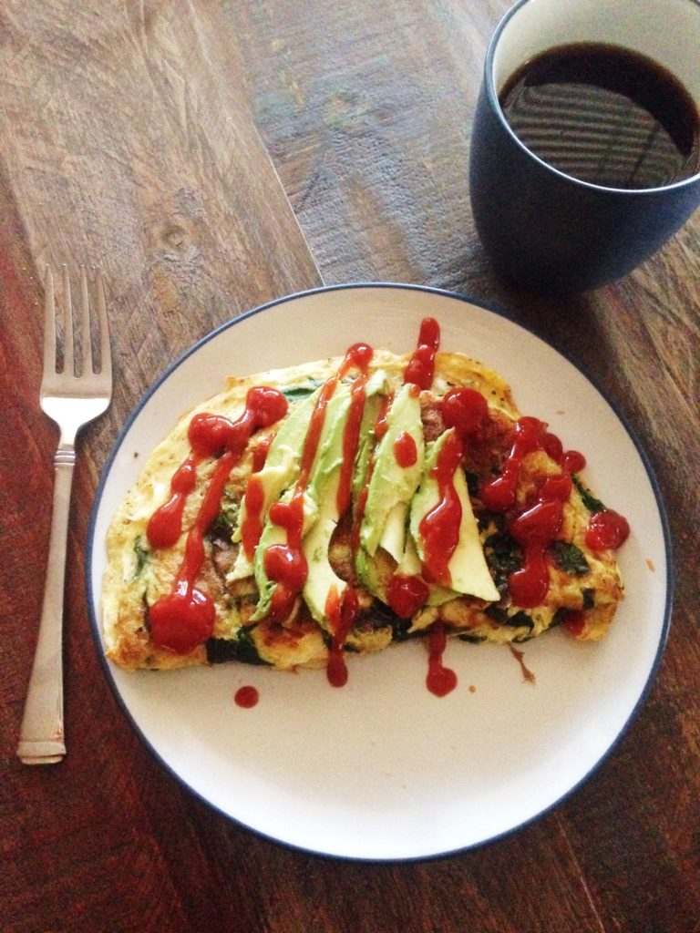 spinach omelet with avocado 2448x3264