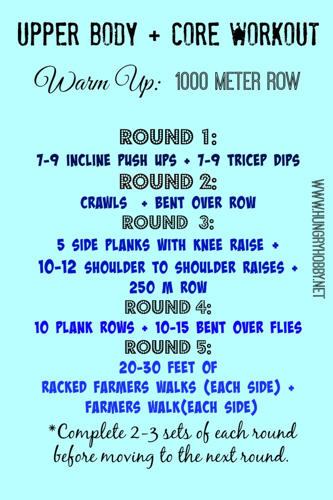 Upper Body Core Workout Amp Advent Adventures