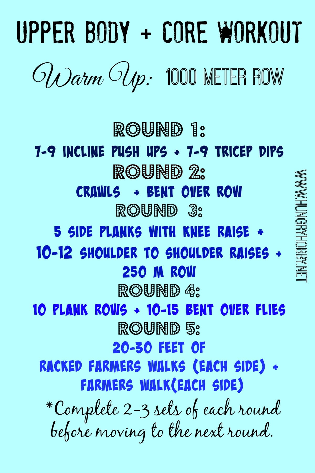 Upper Body And Core Workout3