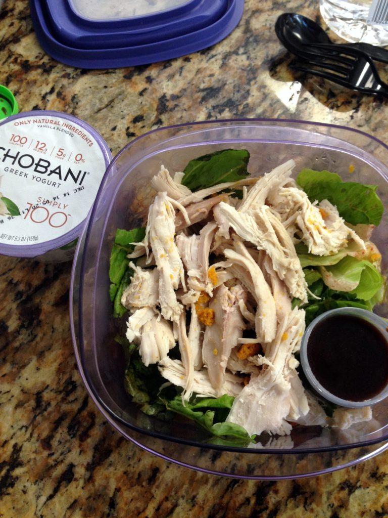 turkey salad lunch