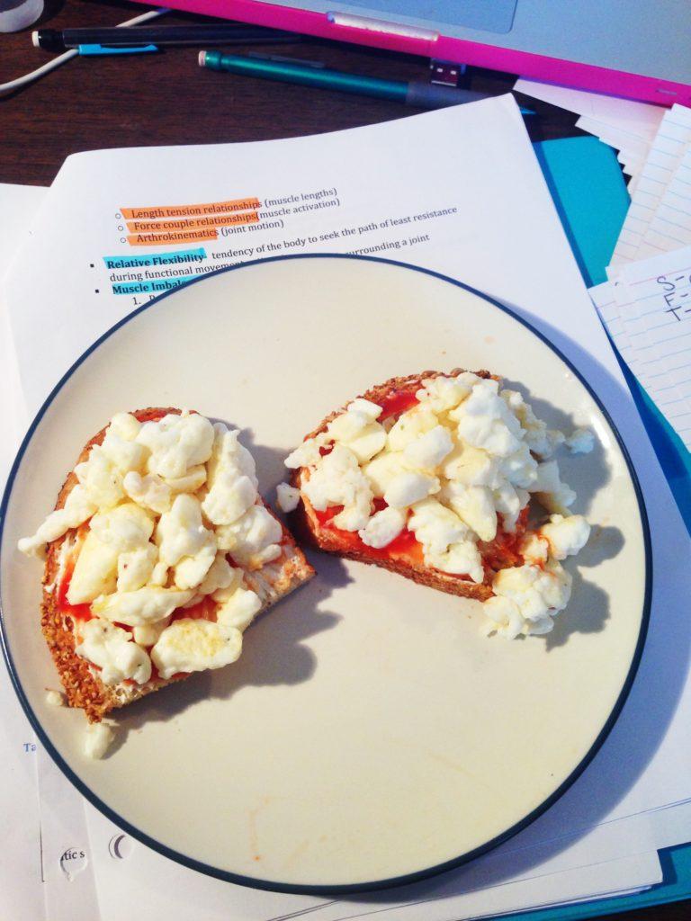 egg white toast