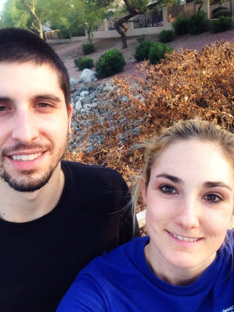 kelli & Paul walk