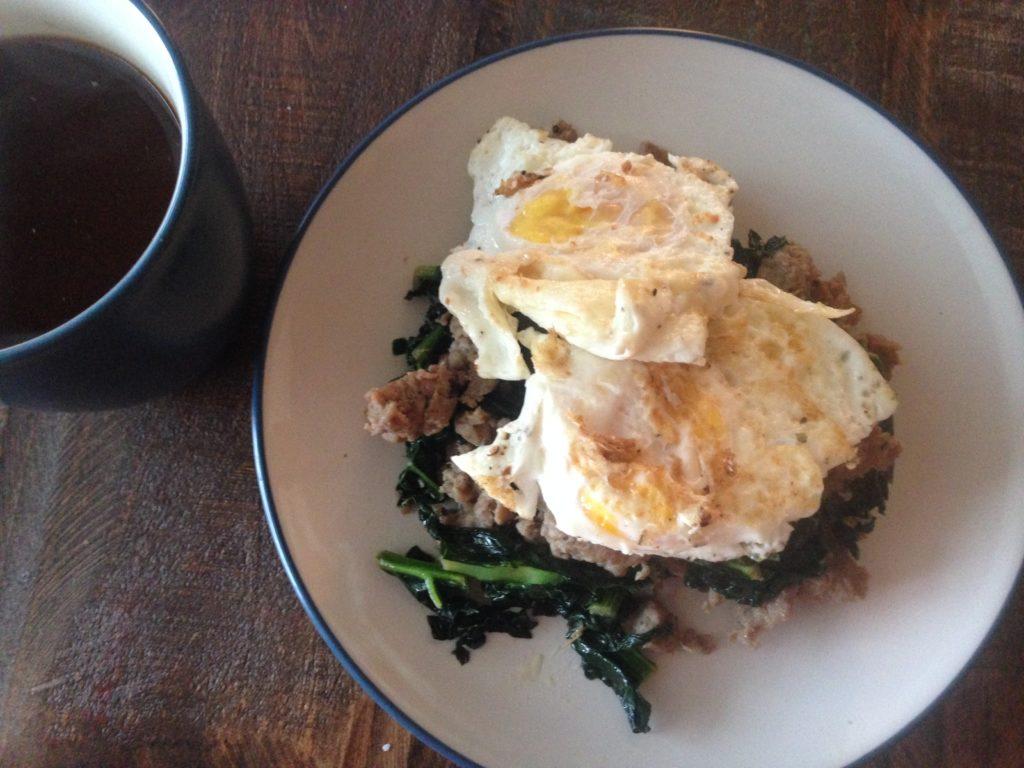 turkey egg breakfast