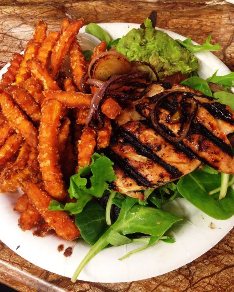 whole foods chicken sweet potato fries