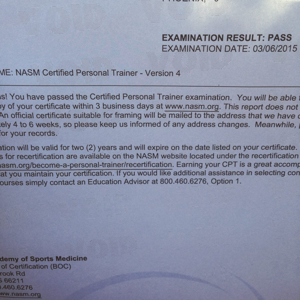I Passed Nasm Cpt Study Tips Hungry Hobby